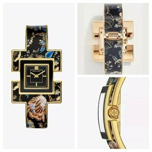 Tory Burch T bangle Limited Edition Watch